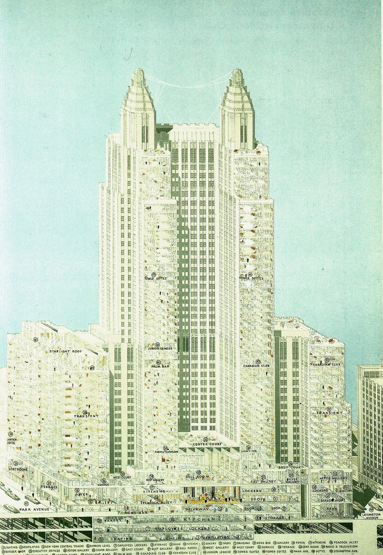 La città in un edificio