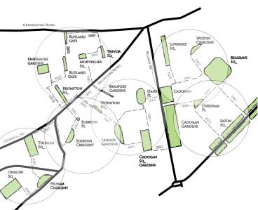 Londra: struttura dello spazio urbano attraverso la forma degli spazi aperti pubblici