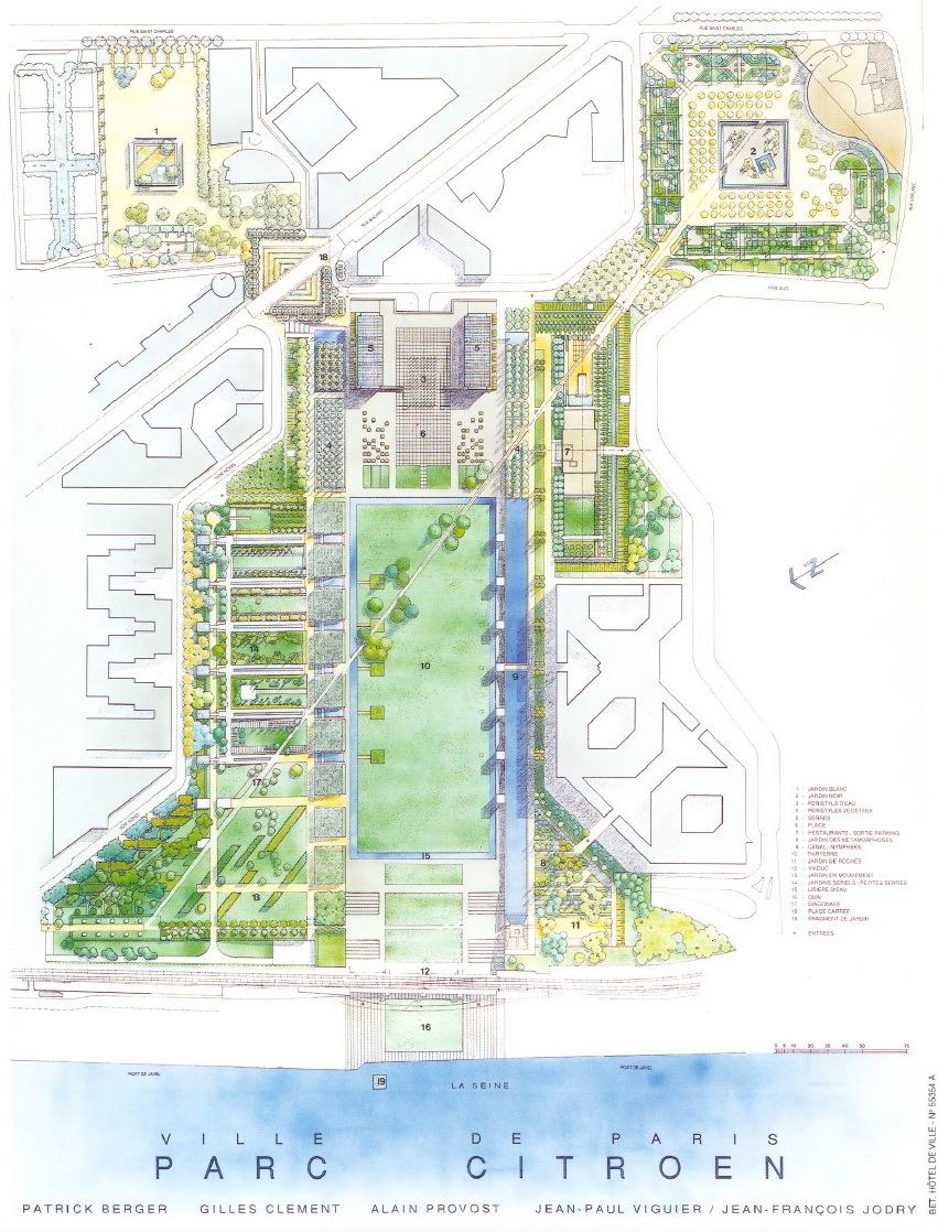 parc citroen plan